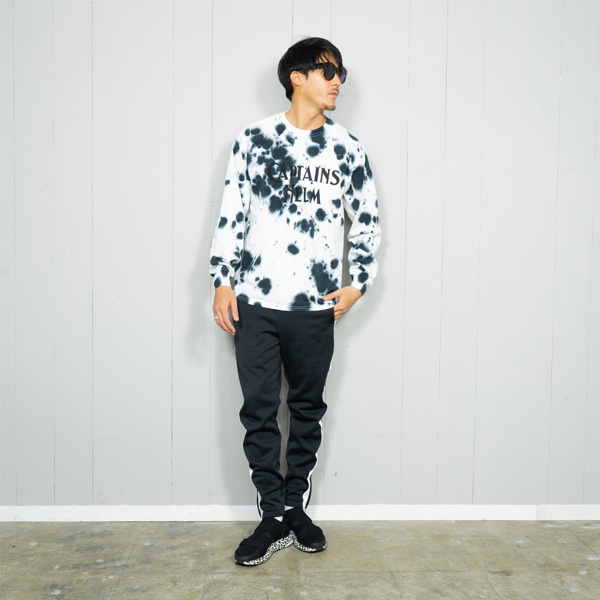 【DELIVERY】 CAPTAINS HELM- #TIE-DYE LOGO L/S TEE_a0076701_18493249.jpg