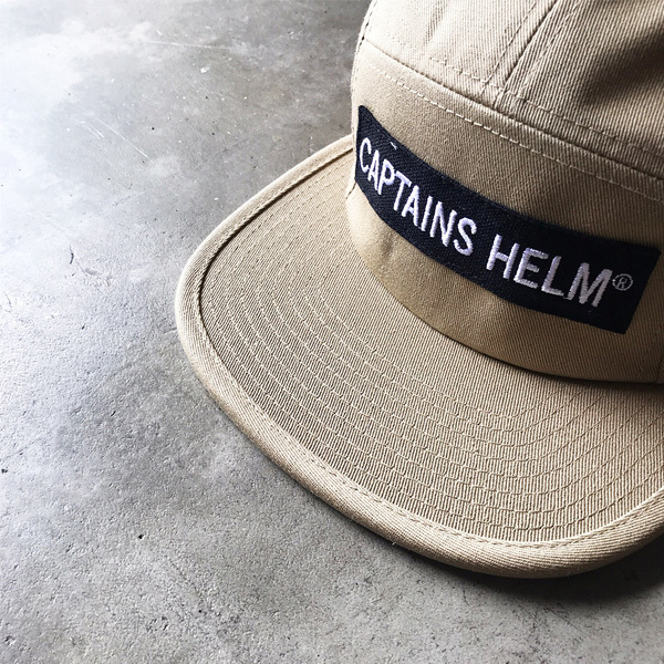 【DELIVERY】 CAPTAINS HELM- #TRADEMARK CAMP CAP_a0076701_18562756.jpg