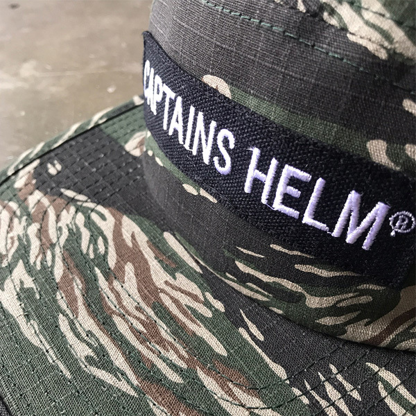 【DELIVERY】 CAPTAINS HELM- #TRADEMARK CAMP CAP_a0076701_18563880.jpg