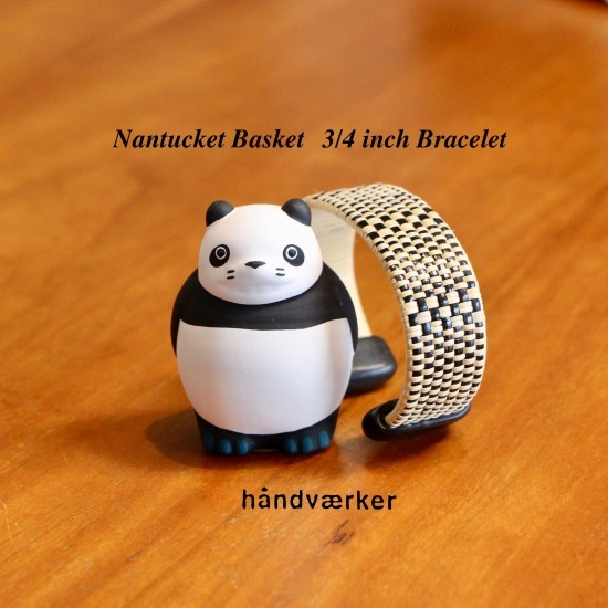 Nantucket Basket Bracelet とパンダコパンダ_f0197215_16304402.jpeg