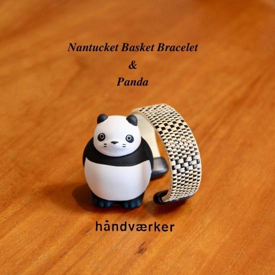 Nantucket Basket Bracelet とパンダコパンダ_f0197215_16304559.jpeg