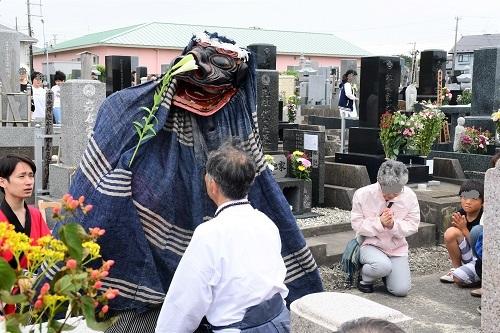 鮫神楽 墓獅子_c0299631_11170671.jpg