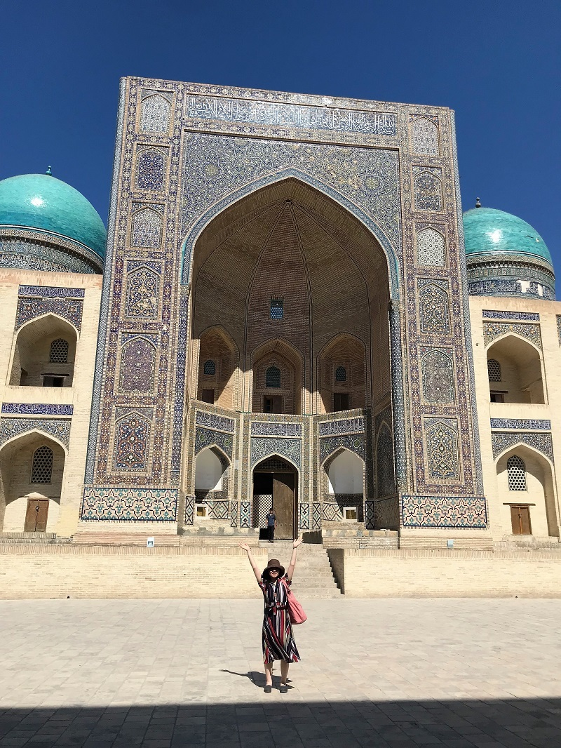 ウズベキスタンからの便りとレヴォーグの真実_f0076731_16143288.jpg