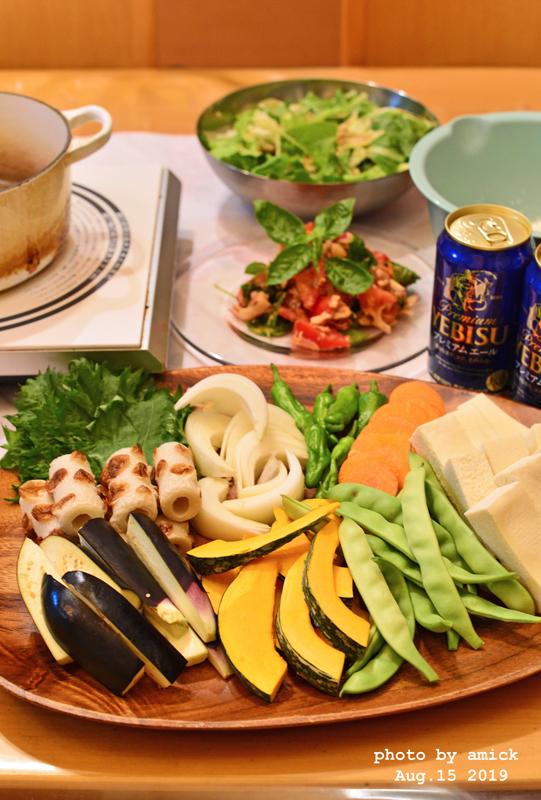 8月22日 木曜日 ダイニング天ぷら だししょうゆで簡単天つゆ   _b0288550_15255917.jpg
