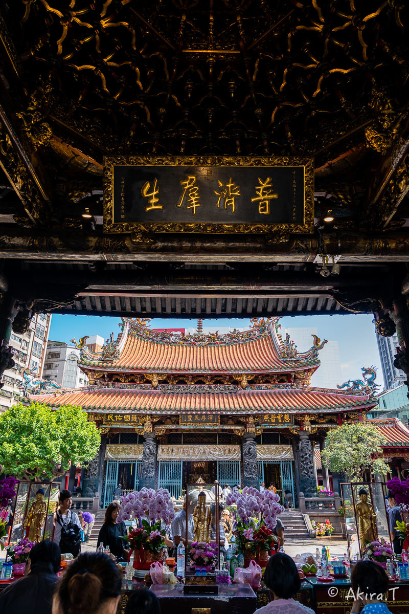 台湾 -8- 〜龍山寺〜_f0152550_15090432.jpg