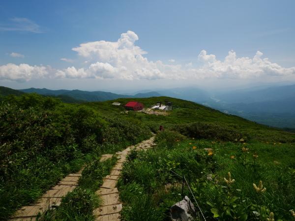 夏の月山 姥ヶ岳_a0351368_15543449.jpg