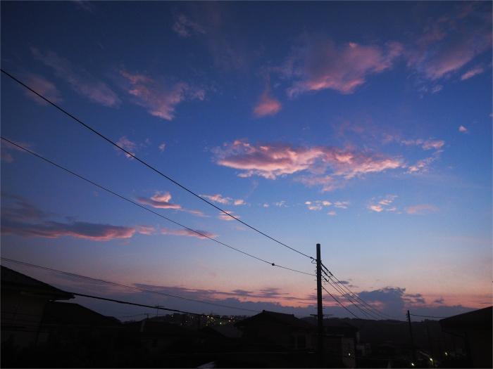 台風過ぎて、夕焼け。_b0022268_19090361.jpg