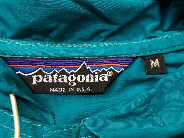 8月17日(土)マグネッツ大阪店、秋スーペリア入荷!! #8 U.S.Made Patagonia編! AnorakParka & 80\'s HenryTops !!_c0078587_1932217.jpg