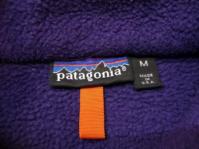 8月17日(土)マグネッツ大阪店、秋スーペリア入荷!! #8 U.S.Made Patagonia編! AnorakParka & 80\'s HenryTops !!_c0078587_1942478.jpg
