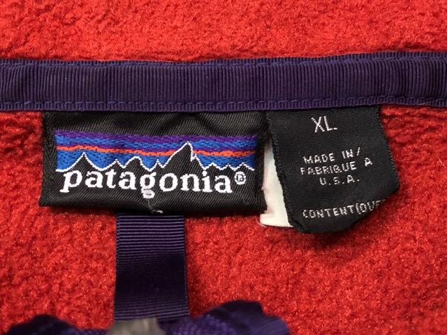 8月17日(土)マグネッツ大阪店、秋スーペリア入荷!! #8 U.S.Made Patagonia編! AnorakParka & 80\'s HenryTops !!_c0078587_1952416.jpg