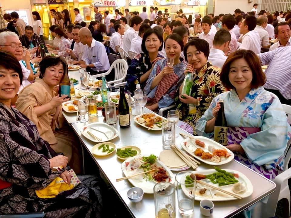 サヨナラ記念★新潟三越ビアガーデン_a0126418_09313654.jpg