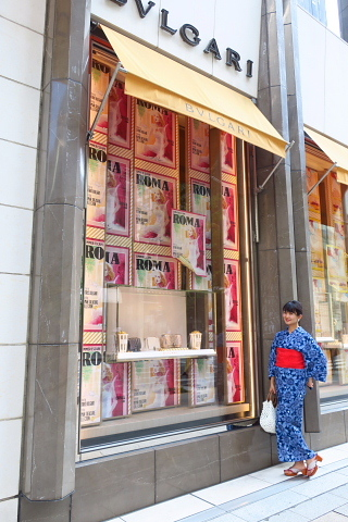 衣服は人生の設計図。靖国神社~銀座~横浜、歩コムの2日間。_d0046025_21133686.jpg