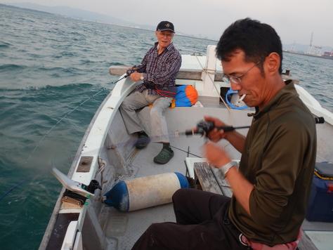 やっと釣りに行けました。タチウオ又々1091!!_f0175450_18204234.jpg