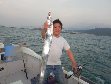 やっと釣りに行けました。タチウオ又々1091!!_f0175450_1821016.jpg