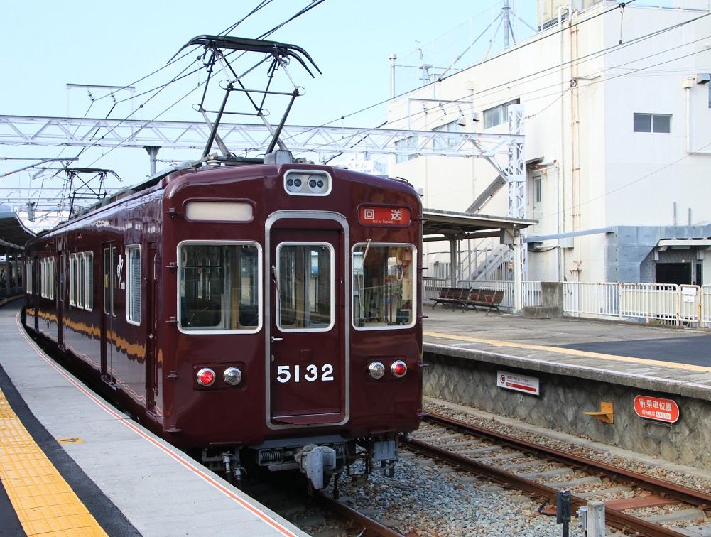 阪急5100系 5132F 臨時車両交換_d0202264_973321.jpg