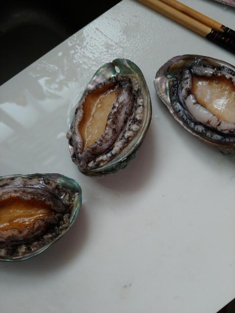 芋ようかん(リベンジ)アワビの塩辛_c0162773_08583060.jpg