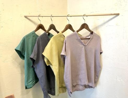 Tシャツ代わりにブラウスを!_b0018004_23293435.jpeg
