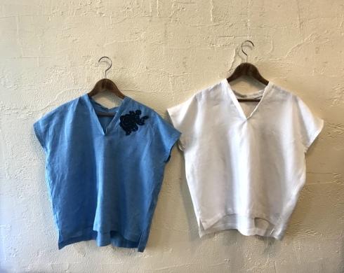 Tシャツ代わりにブラウスを!_b0018004_23341426.jpeg