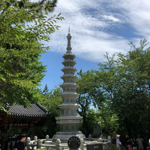 19年8月釜山 その4☆シティツアーバスで海辺に建つお寺へお参り_d0285416_17514015.jpg