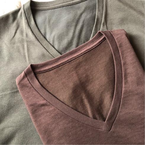 サラリとして痩せて見えるメンズTシャツ_d0285416_18101449.jpg