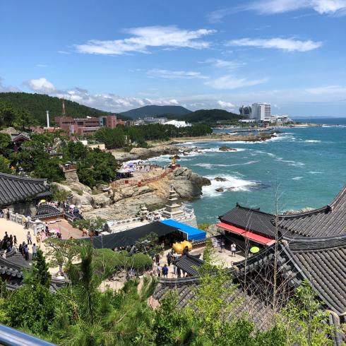 19年8月釜山 その4☆シティツアーバスで海辺に建つお寺へお参り_d0285416_18322744.jpg
