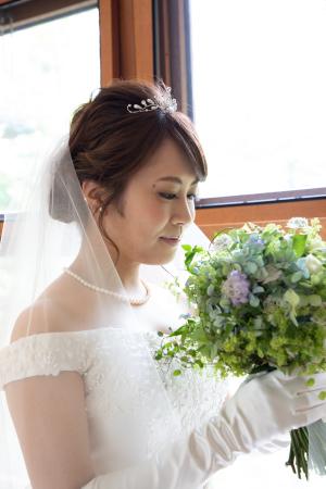 卒花嫁アルバム 軽井沢有明邸の花嫁様と花婿様、ハプニングを前に一花屋にできることすべて_a0042928_14320768.jpeg