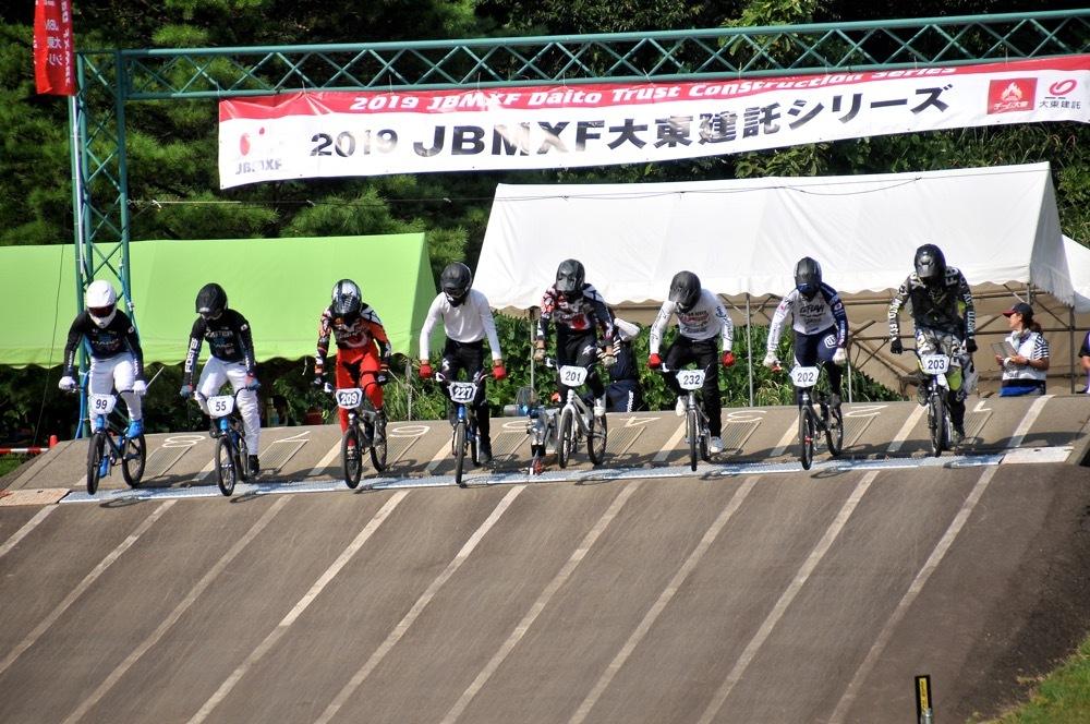 2019年8月17日上越金谷山BMXトラックで開催されたJBMXFJ2戦男子チャンピオシップクラス(エリート/ジュニア)決勝_b0065730_18061601.jpg