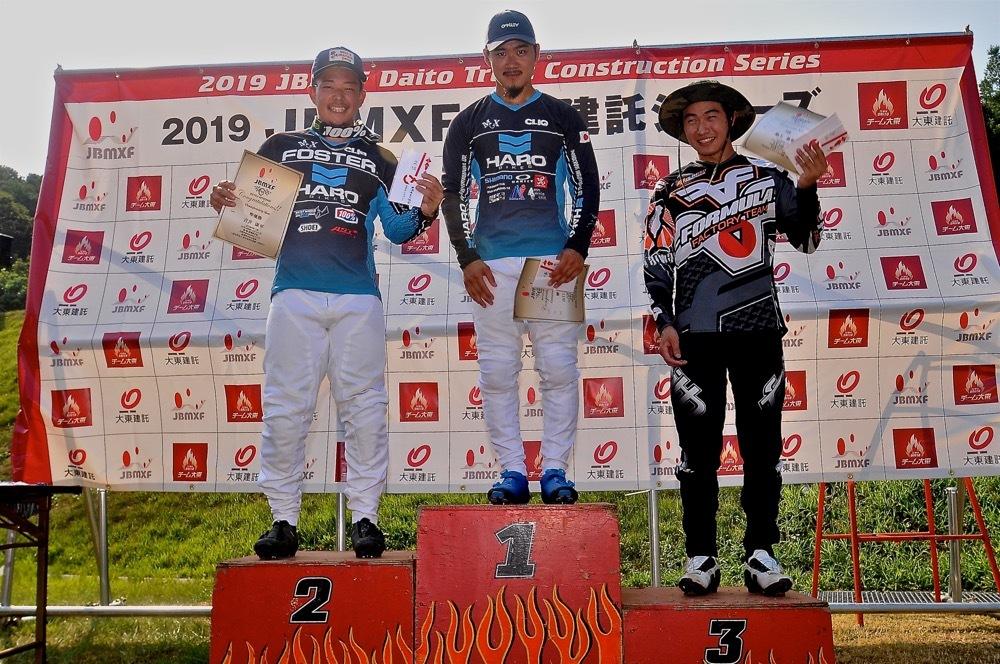 2019年8月17日上越金谷山BMXトラックで開催されたJBMXFJ2戦男子チャンピオシップクラス(エリート/ジュニア)決勝_b0065730_18201737.jpg