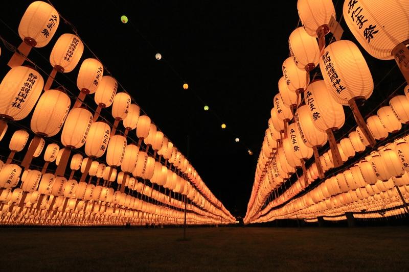 万灯みたま祭@靜岡縣護國神社・3♪ _a0167759_1324975.jpg