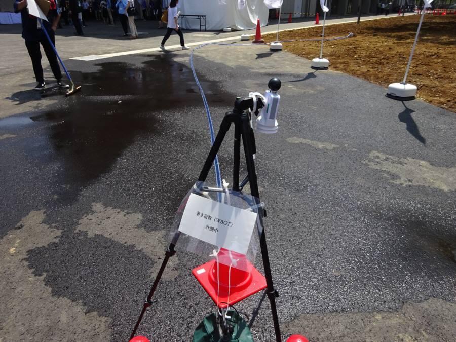 テストイベントでの暑さ対策視察_f0059673_14515926.jpg