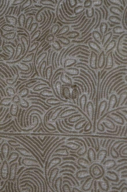 18世紀のマルセイユの極上白キルト「VERMICURE」_b0346275_09372071.jpg