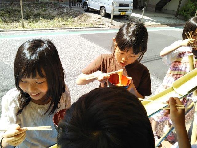 8月7日 Nagashisomen_c0315908_10244909.jpg