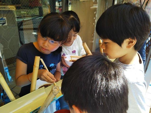 8月7日 Nagashisomen_c0315908_10245752.jpg