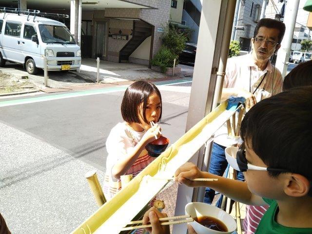 8月7日 Nagashisomen_c0315908_10250780.jpg