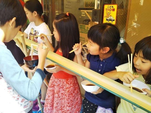 8月7日 Nagashisomen_c0315908_10251326.jpg
