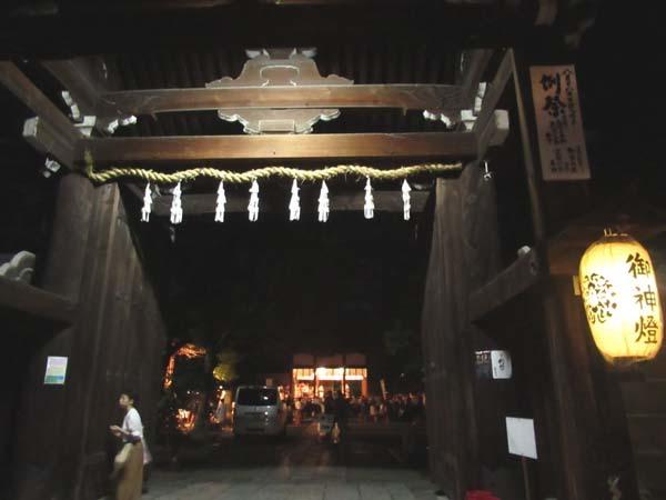 六斎念仏 御霊神社_e0048413_17342066.jpg