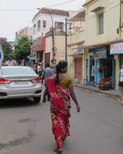南インドの女性_d0126116_16582831.jpg