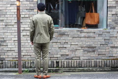 "「WORKERS」今期の限定カラー【Olive】の\""Lounge Jacket\"" ご紹介_f0191324_08225059.jpg"