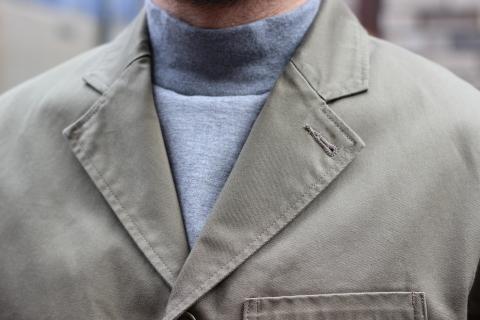 "「WORKERS」今期の限定カラー【Olive】の\""Lounge Jacket\"" ご紹介_f0191324_08235356.jpg"