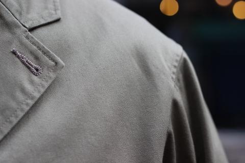 "「WORKERS」今期の限定カラー【Olive】の\""Lounge Jacket\"" ご紹介_f0191324_08240329.jpg"