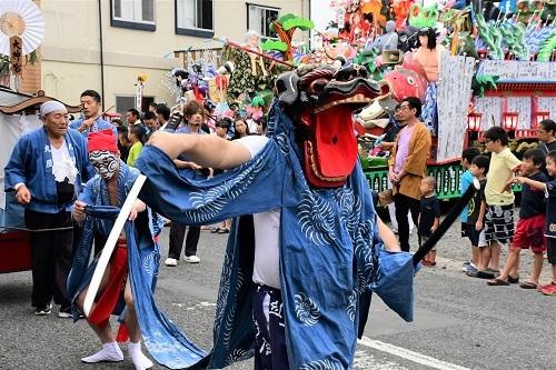 鳴雷神社例大祭 岩手県洋野町大野_c0299631_23371929.jpg