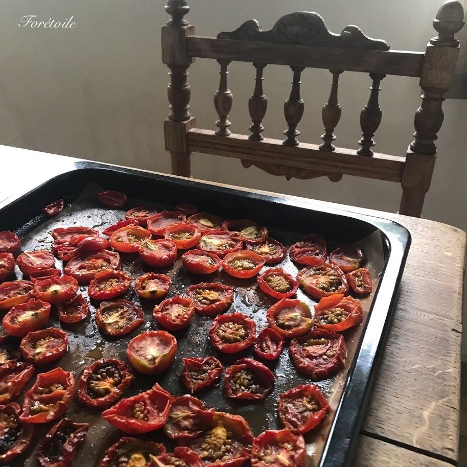 夏の思い出 la tomate et la courgette~トマトとズッキーニ_f0377243_10213616.jpg