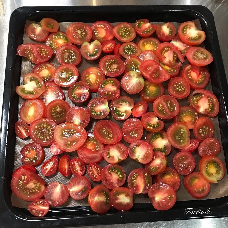 夏の思い出 la tomate et la courgette~トマトとズッキーニ_f0377243_10214523.jpg