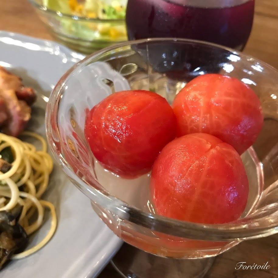 トマトのはちみつ漬け_f0377243_11153672.jpg