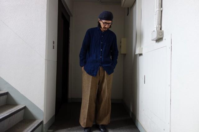 10月の製作 / classic shetlandwooltweed trousers_e0130546_14404699.jpg