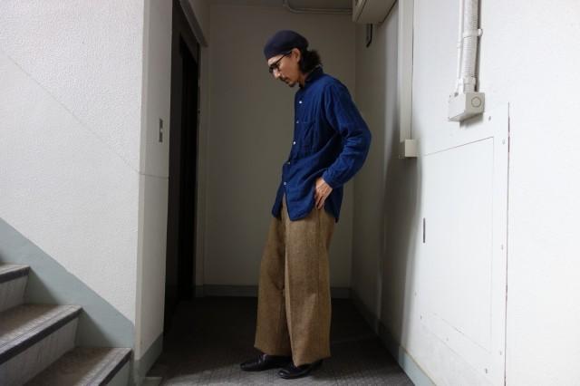 10月の製作 / classic shetlandwooltweed trousers_e0130546_14411128.jpg