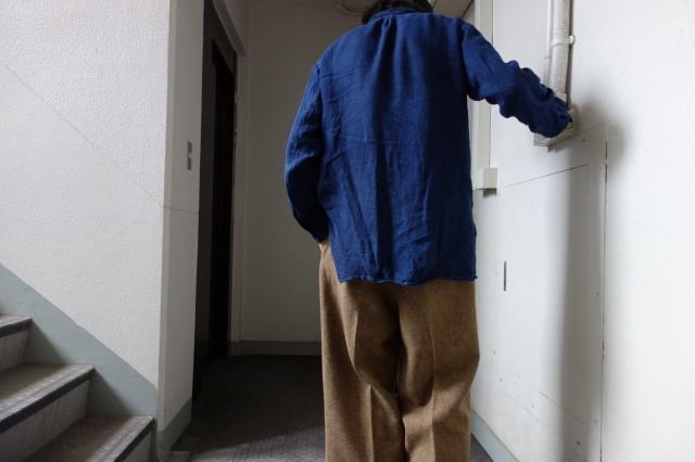 10月の製作 / classic shetlandwooltweed trousers_e0130546_14421523.jpg