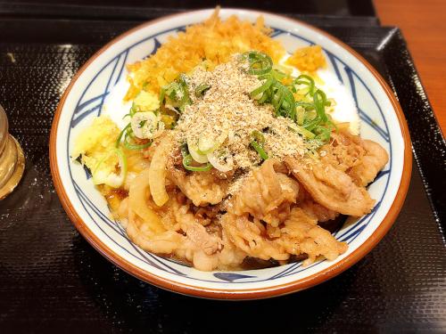 丸亀製麺 三重大学前店_e0292546_21434881.jpg