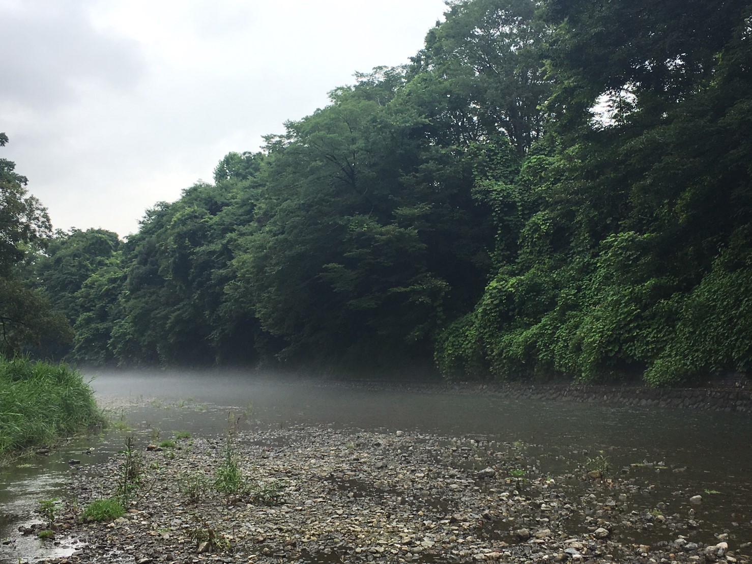 河原でピザ作り_e0123469_23475202.jpg