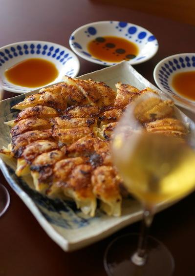 米粉餃子と小麦粉餃子の食べ比べ_d0327373_07251956.jpg